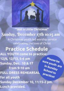 Dec. Program Newsletter and Bulletin