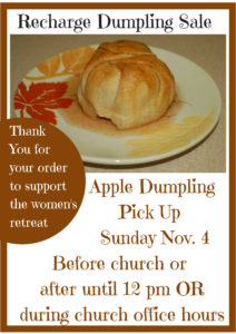 Apple Dumpling Pick-Up @ St. Paul Lutheran Church | Defiance | Ohio | United States