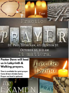 Prayer Retreat @ St. Paul Lutheran Church | Defiance | Ohio | United States