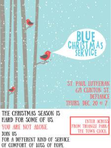 2018 Blue Christmas Service