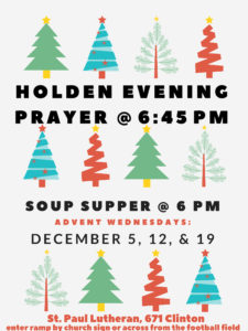 Advent Service and Soup Supper @ St. Paul Lutheran Church | Defiance | Ohio | United States