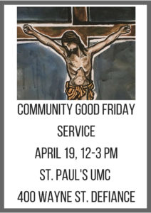 2019 Community Good Friday Service FB