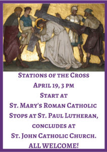2019 Stations of the cross