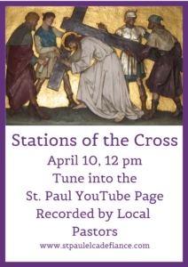 Stations of the Cross on YouTube @ St.Paul Lutheran YouTube Channel