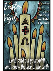 Easter Vigil on YouTube