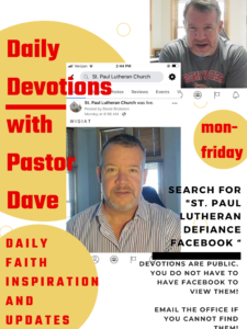 daily devotions with pastor dave
