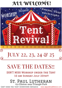 2021 Save the date REVIVAL