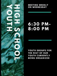 High School Youth Group @ St. Paul Lutheran Church